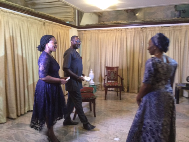 INTERVIEW WITH THE WIFE OF THE ACTING PRESIDENT, MRS. DOLAPO OSINBAJO