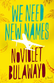 NOVEMBER 2014 BOOK-OF-THE-MONTH is WE NEED NEW NAMES by NO VIOLET BULAWAYO