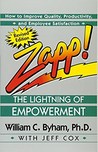 OCTOBER 2017 BOOK-OF-THE-MONTH IS ZAPP!: THE LIGHTNING OF EMPOWERMENT  by JEFF COX AND WILLIAM C. BYHAM.