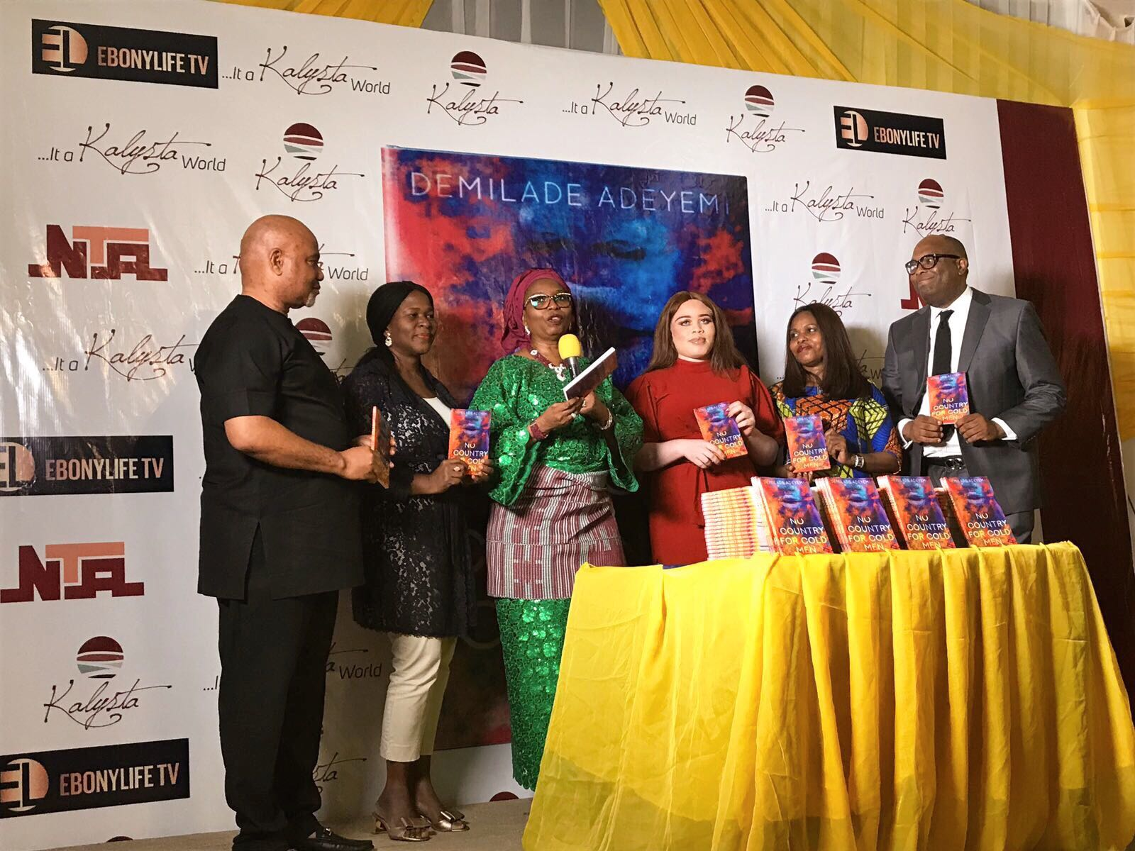 PUBLIC PRESENTATION OF NO COUNTRY FOR COLD MEN by DEMILADE AKINYEMI