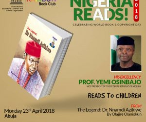VICE PRESIDENT YEMI OSINBAJO SET TO READ WITH THE RAINBOW BOOK CLUB