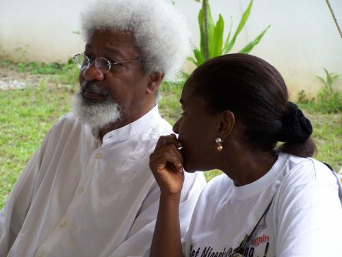 Get Nigeria Reading Again 2006 With Nobel Laureate Wole Soyinka