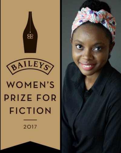 NIGERIAN AUTHOR LONGLISTED FOR THE BAILEYS WOMEN'S PRIZE