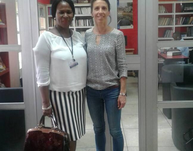 RAINBOW BOOK CLUB WELCOMES THE NEW ALLIANCE FRANCAISE DIRECTOR